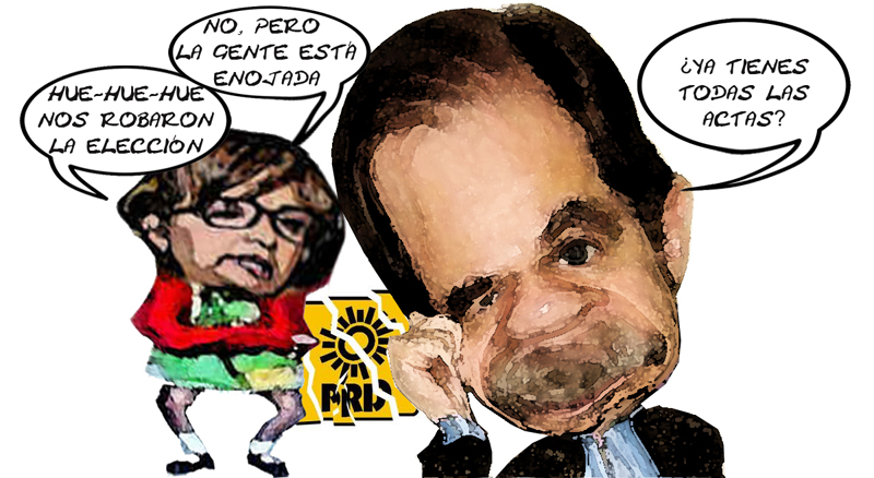 Lorena Cuellar Cisneros Enojada, Agustin Basave Benitez, Aburrido, No Pruebas Fraude, Tlaxcala Online