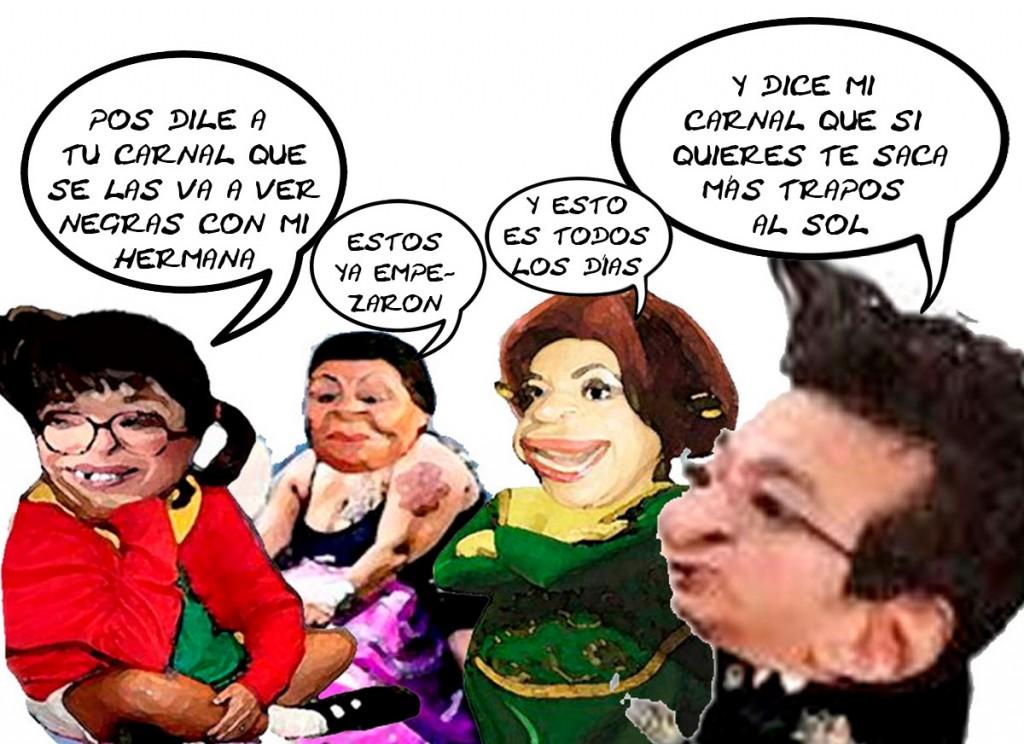 Lorena Cuellar, Pelea Marco Mena PRD, PRI, Debate, Elecciones Tlaxcala En Linea
