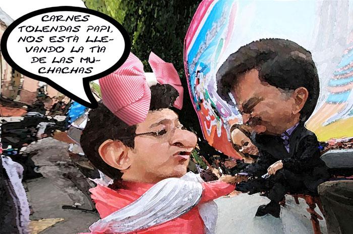 Marco Antonio Mena Rodriguez, Carnaval Tlaxcala, Mariano Gonzalez Zarur, Desplome, Caricatura En Linea