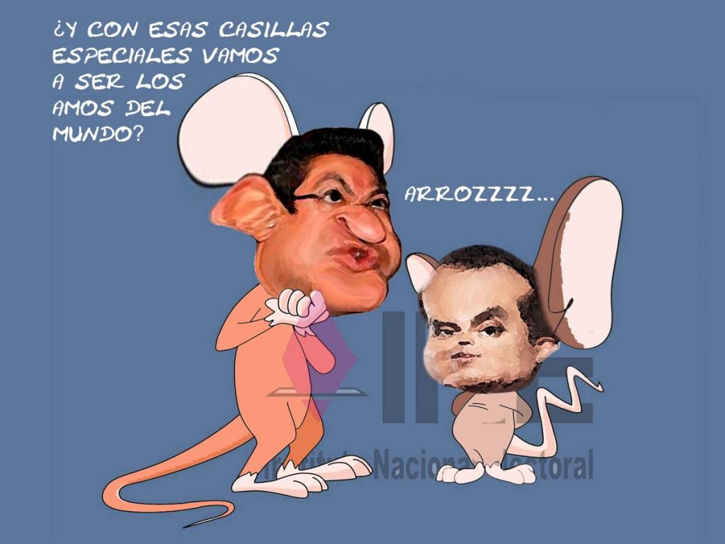 Marco Mena PRI, Luis Carlos Ugalde, ex Presidente IFE, Tramposos Tlaxcala En Linea