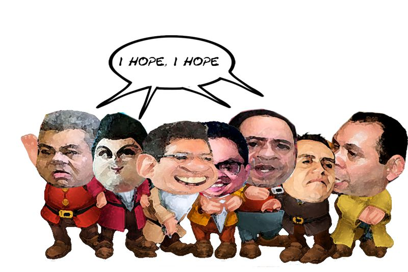 Mariano Gonzalez Aguirre, Juan Antonio, Paco Velazquez, Jorge Luis Vazquez, Joaquin Cisneros Sanchez, Caricatura, Tlaxcala Online
