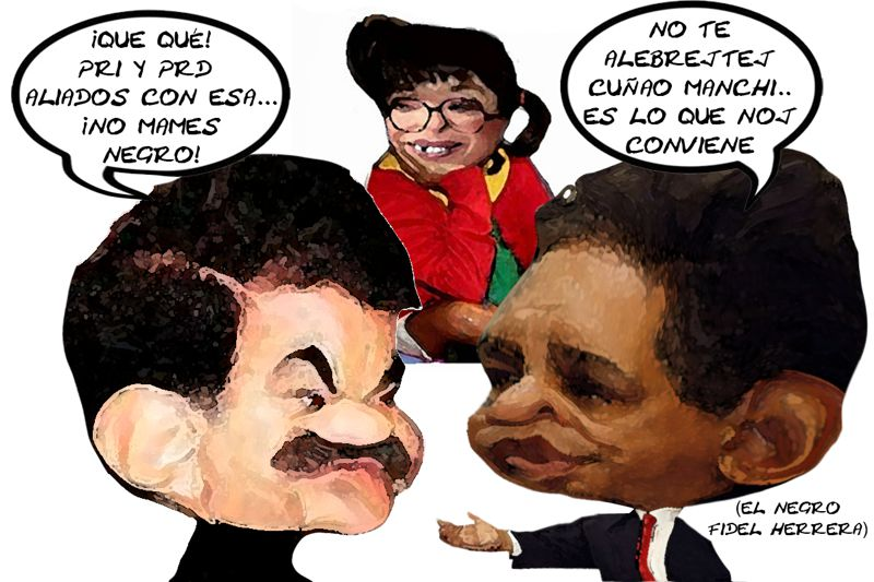 Mariano Gonzalez Zarur 1, Alianza PRD PRI, Molesto, Fidel Herrera Beltran, Negro, Lorena Cuellar Tlaxcala Online