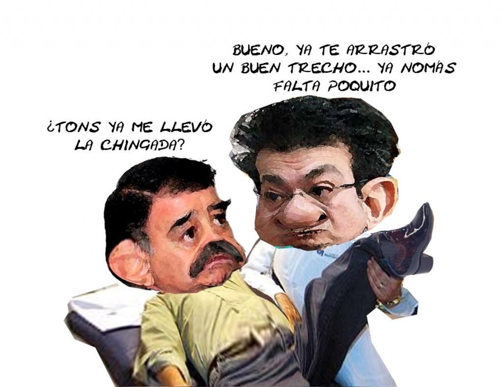 Mariano Gonzalez Zarur, Marco Mena, PRI, Tlaxcala Eleccion, Caricatura En Linea