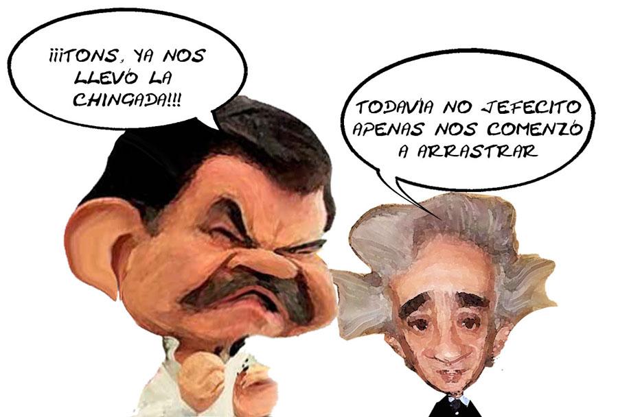 Mariano-Gonzalez-Zarur-Truena-Cuenta-Publica-2014-ASF-Jorge-Aguilera-Finanzas-Tlaxcala-En-Linea-Caricatura