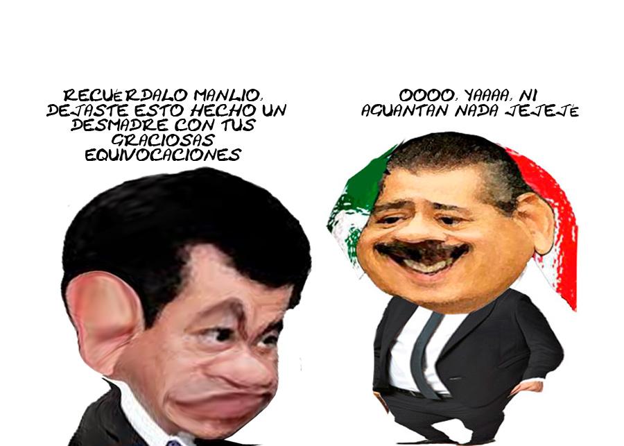 Miguel Angel Osorio Chong, Manlio Fabio Beltrones Rivera, Tlaxcala, Presionados Caricatura