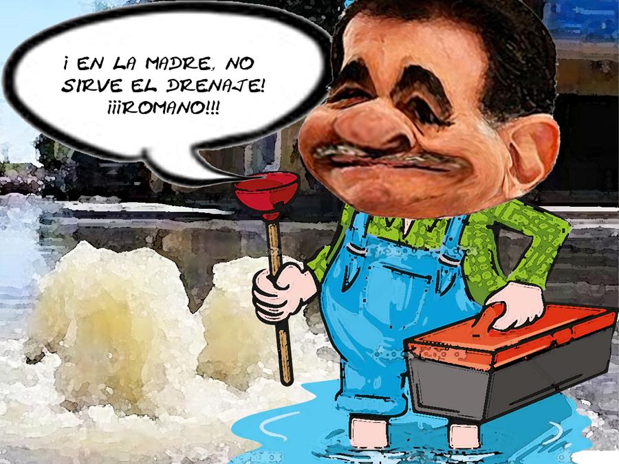 No Funciona Drenaje Millonario Apizaco Mariano Culpable, Romano Corrupto, Tlaxcala Online