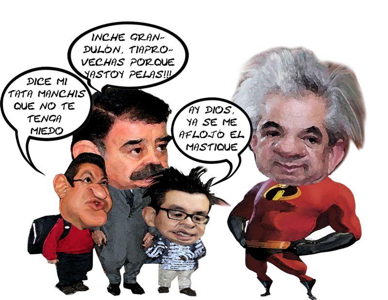 Noe Rodriguez Roldan, Destape, Gubernatura, PRI, Mariano Gonzalez Zarur, Marco Mena, Ricardo Garcia Portilla, Caricatura Tlaxcala Online