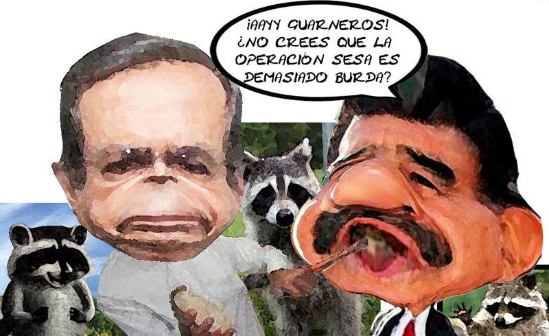 Operacion SESA Eleccion Junio Mapaches, Alejandro Guarneros, Mariano Gonzalez Zarur, Tlaxcala Online, Caricatura