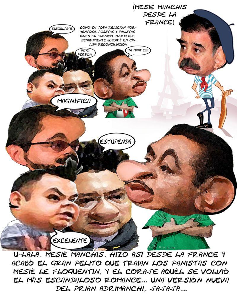 PAN Se Humilla, Entreguistas, Convenencieros Con PRI, Mariano Gonzalez Zarur, Angelo Gutierrez, Paris, Reforma Electoral, Florentino Dominguez, Tlax