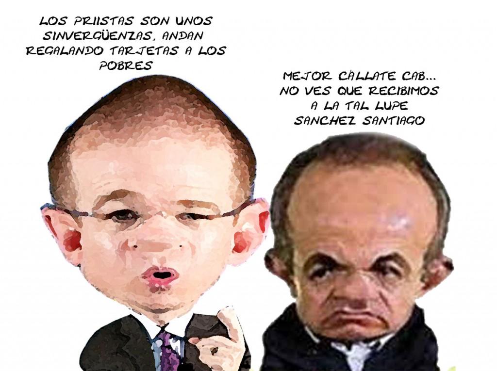 Ricardo Anaya Pega PRI, Felipe Calderon Lo Calla Por Guadalupe Sanchez Santiago, Tlaxcala En Linea