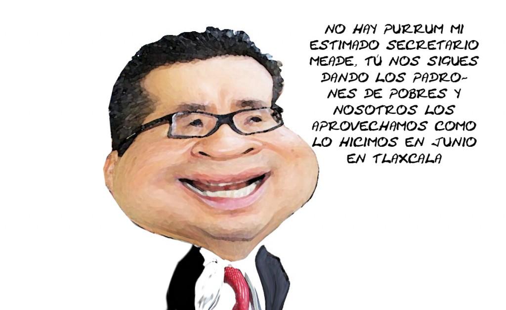 Rixcardo Garcia Portilla, Diputado Cinico PRI, Jugo Padron Pobres Sedesol, Tlaxcala Online