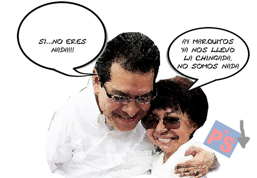 Rosalia Peredo Partido Socialista No Es Nada, Marco Mena PRI Tlaxcala Online