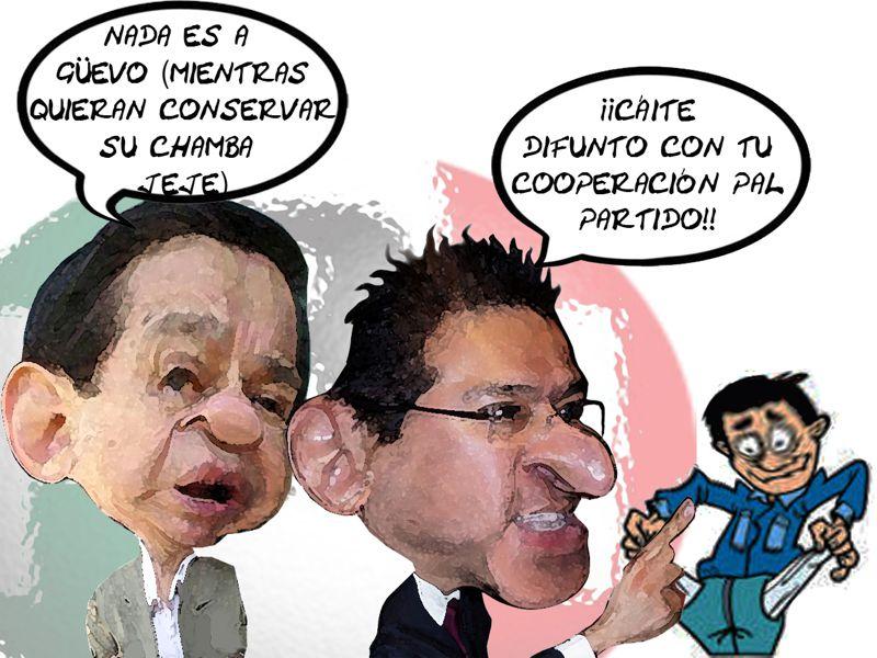Ubaldo Velasco Hernandez, Oficial Mayor, Marco Antonio Mena PRI, Quitan Dinero a Burocratas, Tlaxcala Online