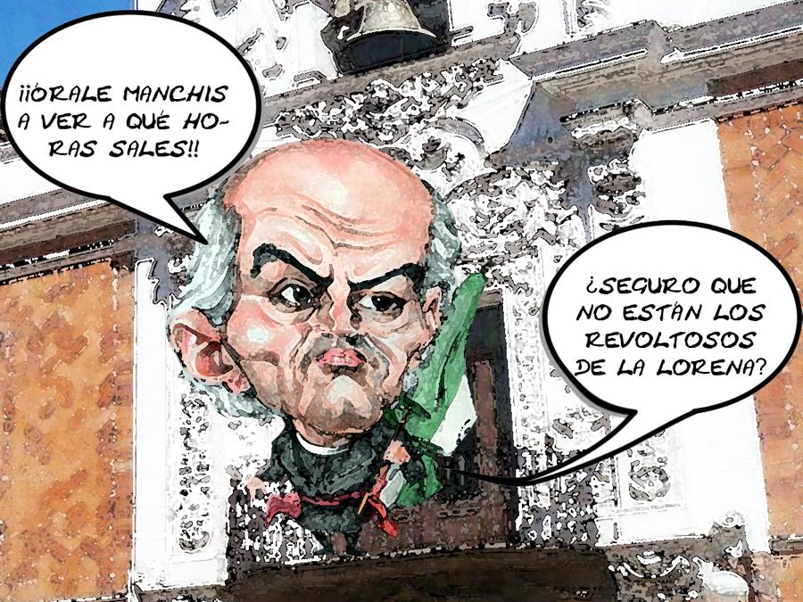 Ultimo Grito Independencia Mariano Gonzalez Cobarde Teme Gente Lorena Por Fraude, Tlaxcala Online
