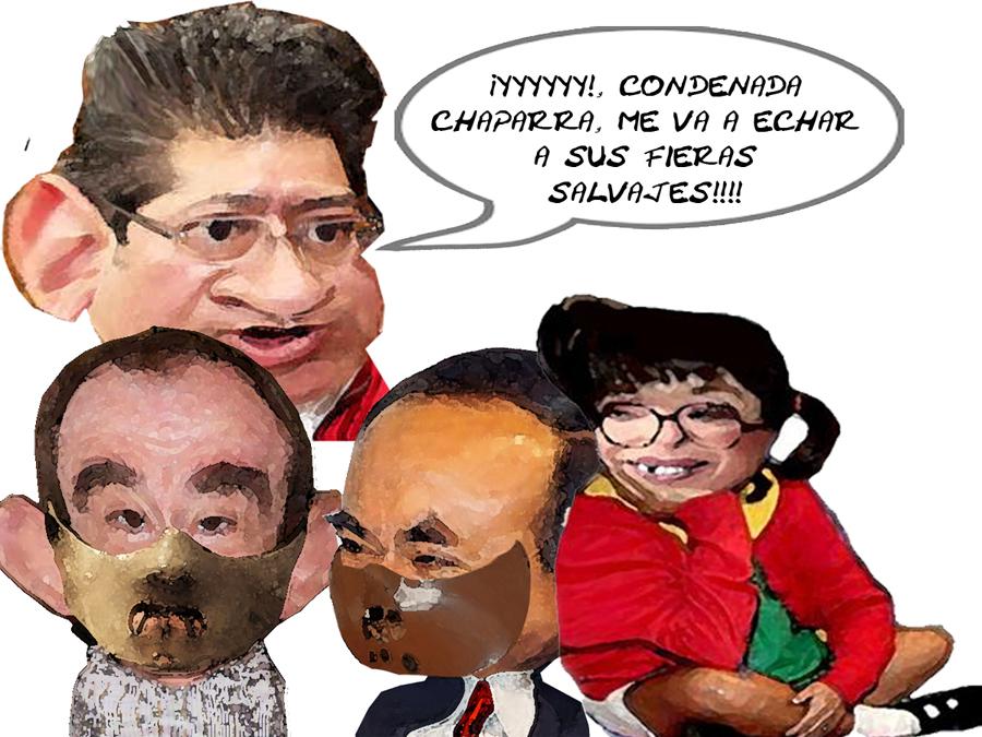 Victor Canovas, Daniel Herrera Murga, Lorena Cuellar PRD, Marco Antonio Mena, PRI, Tlaxcala Online, Caricatura