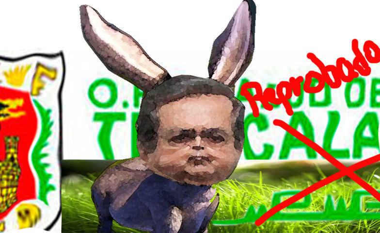 (etlaxcala) Alejandro Guarneros Chumacero, Salud Tlaxcala, Decadente, Reprobado, Caricatura Enlinea