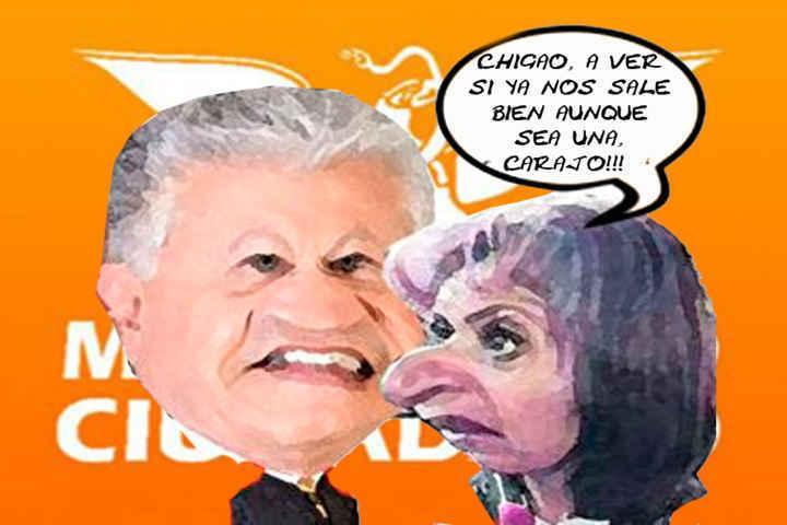 (etlaxcala) Alfonso Sanchez Anaya, Maricarmen Ramirez Garcia, Movimiento Ciudadano, Caricatura Tlaxcala En Linea