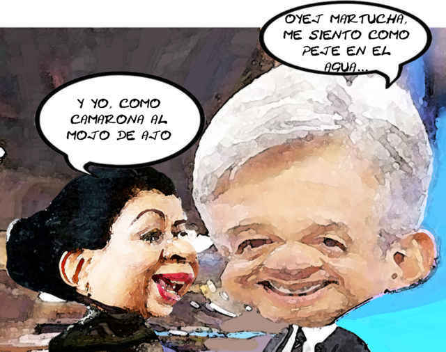 (etlaxcala) Andres Manuel Lopez Obrador, Caricatura, Martha Palafox Gutierrez, Morena, Tlaxcala Online