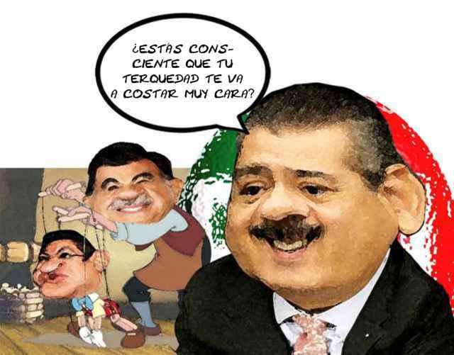 (etlaxcala) Caricatura Manlio Fabio Beltrones, Mariano Gonzalez Zarur, Tlaxcala Online