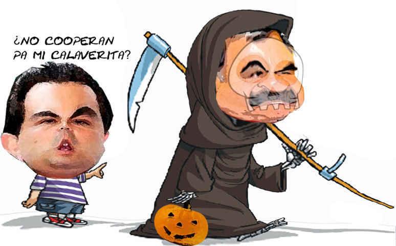 (etlaxcala) Caricatura Marianito, Mariano Gonzalez, Pide Calavera, Tlaxcala Online