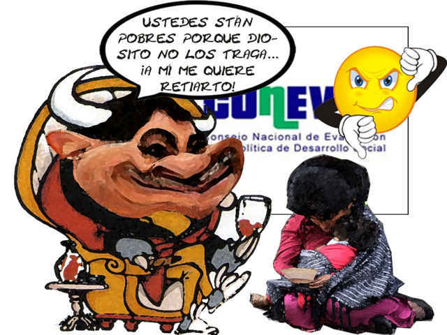 (etlaxcala) Con Mariano Gonzalez Zarur Aumento Pobreza Coneval, Caricatura, Tlaxcala Online