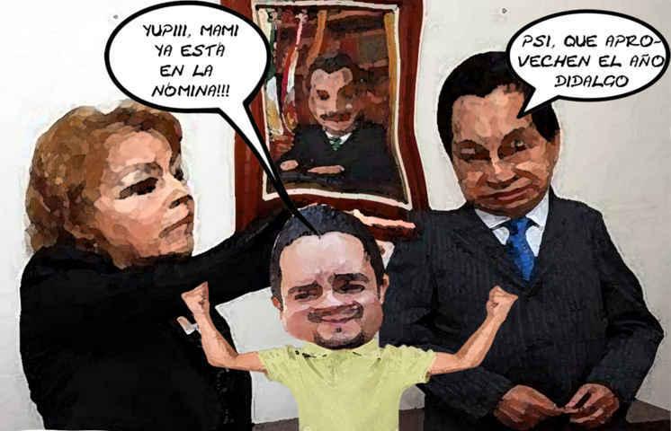 (etlaxcala) Consejera Juridica Ines Bonilla, Hector Maldonado, Ubaldo Velasco, Nepotismo Tlaxcala Online