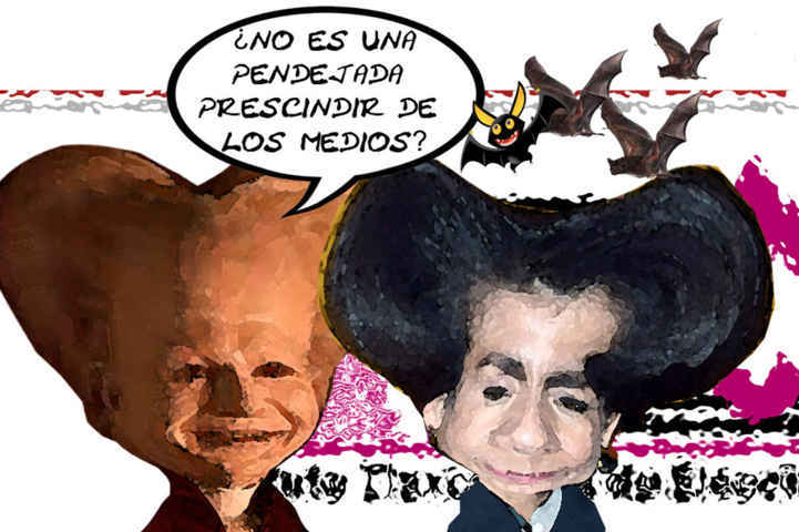 (etlaxcala) Dracula 1, Dora Rodriguez Soriano, ITE, Decision Prescindir Medios Comunicacion, Caricatura Tlaxcala Online