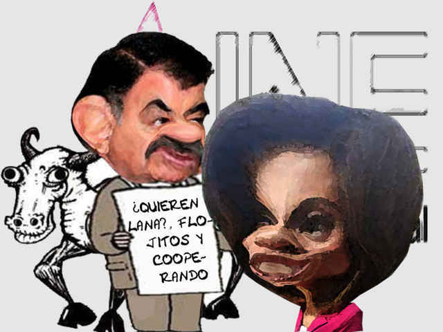 (etlaxcala) Elizabeth Piedras Martinez, Ople, Negocia Oscuro Mariano Gonzalez Zarur, Corrupcion, Fraude Electoral, Caricatura, Tlaxcala Online