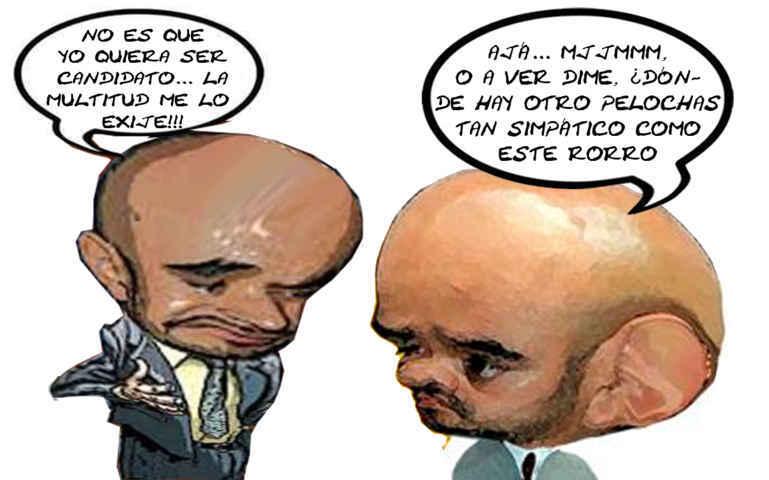 (etlaxcala) Hugo Rene Temoltzin Carreto, Converso PAN PRI, Contralor Ejecutivo, Quiere Ser Alcalde Tlaxcala Caricatura Online