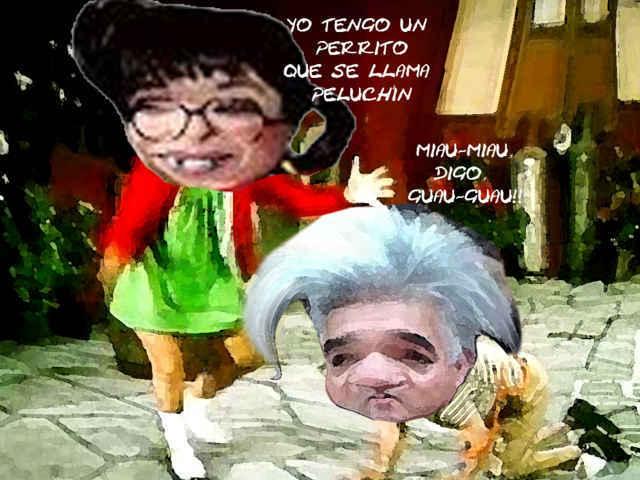 (etlaxcala) Lorena Cuellar Cisneros, Informe Senado, Caricatura, Gelacio Montiel Fuentes, Perro Peluchin, Tlaxcala Online