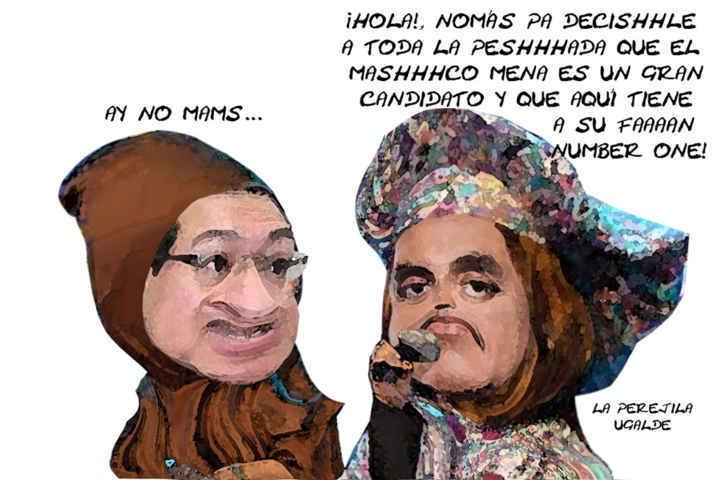 (etlaxcala) Luis Carlos Ugalde, Elogia Marco Mena Rodriguez, Jitomata Perejila, Caricatura Tlaxcala Enlinea