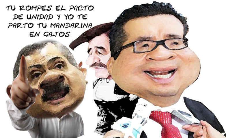 (etlaxcala) Manlio Fabio Beltrones, Mariano Gonzalez, Ricardo Garcia Portilla, PRI, Rompe Pacto de Unidad