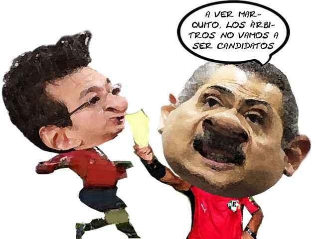 (etlaxcala) Marco Antonio Mena Rodriguez, Caricatura, Lider Estatal PRI, Manlio Fabio Beltrones, Arbitros No Candidatos, Tlaxcala Online