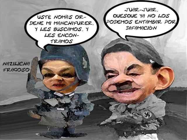 (etlaxcala) Mariano Gonzalez Pide Despanalizar Delitos Honor, Alicia Fragoso, Derechos Humanos, Caricatura, Tlaxcala Online