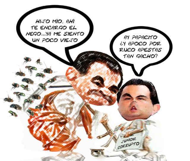 (etlaxcala) Mariano Gonzalez Zarur, 1 Ano Viejo, Aguirre Nuevo, Caricatura Tlaxcala Online