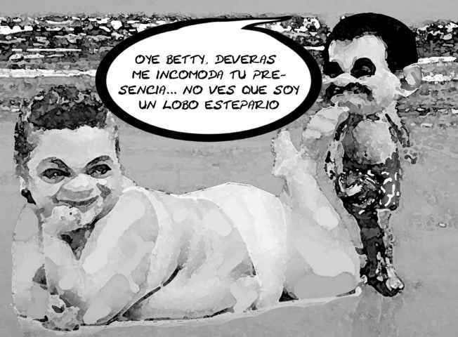 (etlaxcala) Mariano Gonzalez Zarur, Lobo Estepario, Beatriz Paresdes Rangel, Tlaxcala Online Caricatura