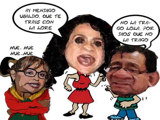 (etlaxcala) Respalda Lola Padierna IDN, Lorena Cuellar PRD, Ubaldo Lander Corona, Detesta, Caricatura, Tlaxcala Online