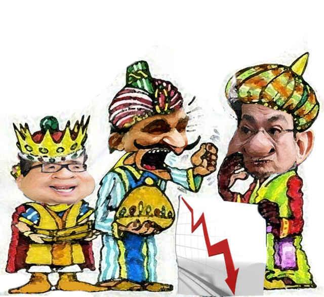(etlaxcala) Ricardo Garcia Portilla, Mariano Gonzalez Zarur, Marco Antonio Mena, Caricatura Reyes Magos, Tlaxcala Online