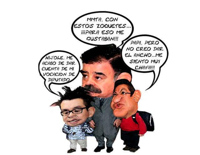 (etlaxcala) Tira Arpa Ricardo Garcia Portilla, Mariano Gonzalez Zarur, Usa Marco Antonio Mena, Se Siente Incapaz, Tlaxcala Online, Caricatura