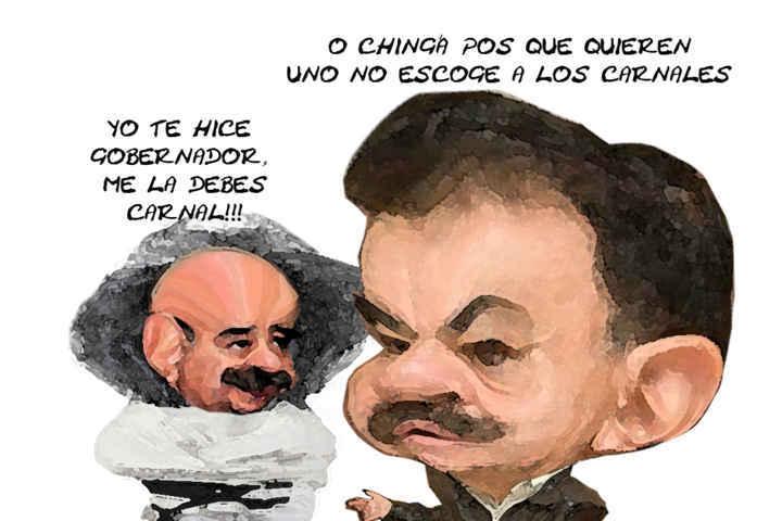 (etlaxcala) Tonchis Gonzalez Zarur, Mariano, gobierno, PRI, Tlaxcala Online Caricatura