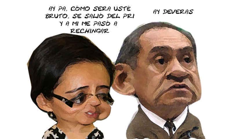 (etlaxcala) vibiana Barbosa, Federico, Renuncia PRI, Tlaxcala Online Caricatura