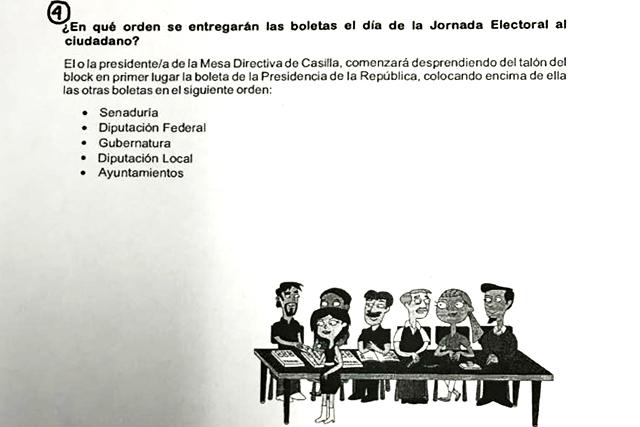 INE aprueba que aparezcan en la boleta electoral apodos de los candidatos